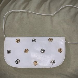 Judith Lieber Leather Bag with Embelishments